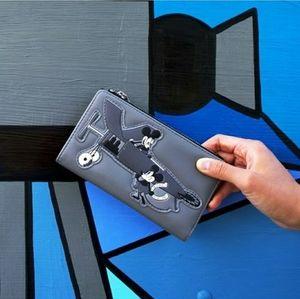 Loungefly Mickey mouse plane wallet